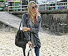 Photo Slide of Sienna Miller at Sydney's Bondi Beach