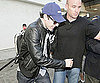 Photo Slide of Sacha Baron Cohen Arriving at LAX