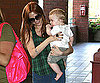 Photo Slide of Ashlee Simpson and Bronx at Class in LA