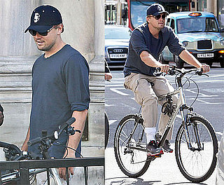 Photos of Leonardo DiCaprio Riding His Bike in London