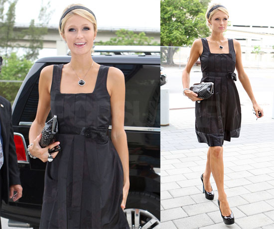 Photos of Paris Hilton Leaving Court