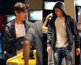 Photos of Zac Efron at the Arcade