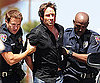 Photo Slide of David Duchovny Getting Arrested on the LA Set of Californication