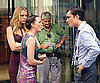 Photo Slide of Blake Lively, Ed Westwick, and Leighton Meester Filming Gossip Girl in NYC