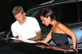 Photos of David and Victoria Beckham
