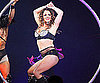 Photo Slide of Britney Spears Performing in St Petersburg, Russia