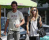 Photo Slide of Shia LaBeouf Getting Coffee With A Girl in LA