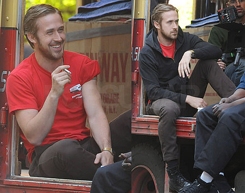 Photos of Ryan Gosling on the Set of Blue Valentine