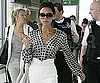 Photo Slide of Victoria Beckham at Heathrow