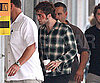 Photo Slide of Robert Pattinson Looking Rough on the NYC Set of Remember Me
