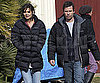 Photo Slide of Katie Holmes and Guy Pearce on Set in Melbourne