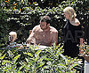 Photo Slide of Liev Schreiber and Naomi Watts Eating Pizza with Son Sasha in Naples