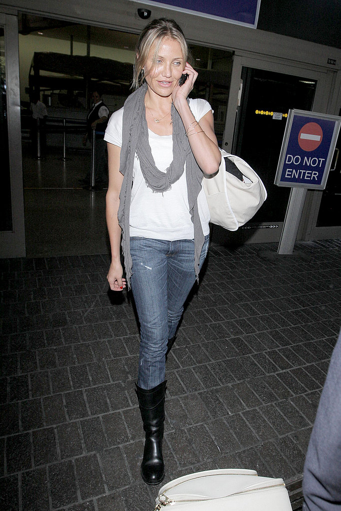 Photos of Cameron Diaz at LAX