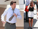 Photos of Patrick Dempsey and Jennifer Garner Filming Valentine's Day