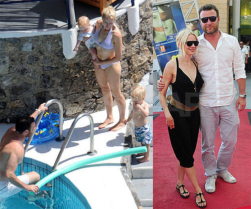 Liev and Naomi Escape to Italy For Family Vacation Bikini Time