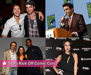 The Fun Keeps Coming At Comic-Con With Robert Pattinson, Cameron Diaz, Megan Fox and Robert Downey, Jr.