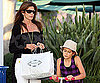 Photo Slide of Cindy Crawford And Daughter Kaya Out in LA