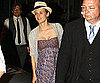 Photo Slide of Diane Kruger Leaving Berlin's Tarantino's Restaurant After Dining With The Inglourious Basterds Crew