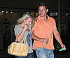 Slide Photo of Nick Lachey at Drinks with Blonde Female Friend in Sherman Oaks, CA