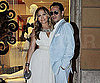 Slide Photo of Jennifer Lopez and Marc Anthony at Yamamay Boutique Opening in Rome