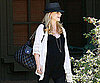Photo Slide of Pregnant Sarah Michelle Gellar Getting Lunch in LA