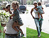 Photos of Halle Berry and Nahla in LA