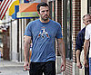 Photo Slide of Ben Affleck Walking in Boston