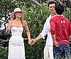 Slide Photo of Ali Larter, Hayes MacArthur at Post-Wedding Brunch in Maine