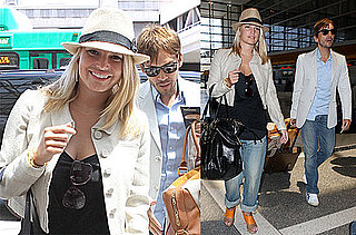 Photos of Jessica Simpson, Ken Paves at LAX Flying to Japan for The Price of Beauty