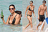 Photos of Demi Moore in a Bikini and Ashton Kutcher Shirtless in the Caribbean