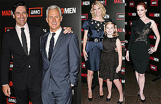 Photos of January Jones, Jon Hamm at Mad Men Season Three Premiere in LA