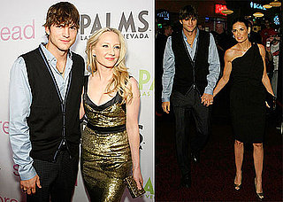 Photos of Demi Moore, Ashton Kutcher, and Anne Heche at the Las Vegas Premiere of Spread