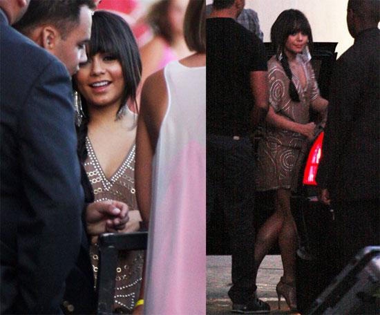 Photos of Vanessa Hudgens Leaving Jimmy Kimmel