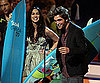 Slide Photo of Robert Pattinson on Stage at Teen Choice Awards