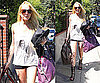 Photos of Lindsay Lohan Leaving Samantha Ronson's House in LA