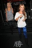 Photos of Audrina and Stephanie at Katsuya