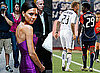 Photos of Victoria Beckham at Idol Auditions in Denver, David Beckham Playing New England Revolution