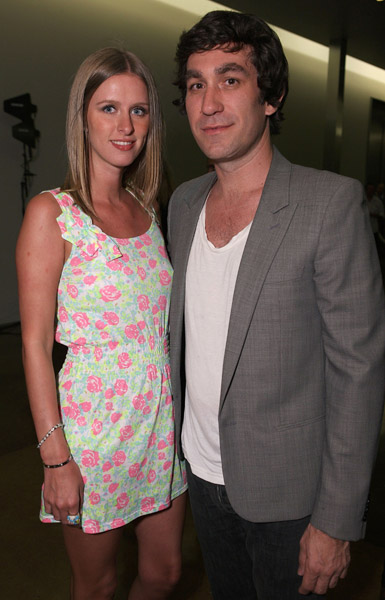 Photos of Heidi and Spencer at Svedka Event
