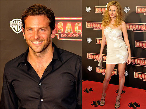Photos of Heather Graham, Bradley Cooper at The Hangover Barcelona Premiere After Bradley Caught Kissing Renee Zellweger