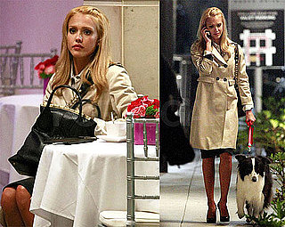 Photos of Jessica Alba on Set of Valentine's Day in LA