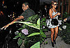 Photos of Beyonce Knowles and Jay-Z Having Dinner at Nello's in NYC