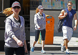 Photos of Scarlett Johansson at Gym in NYC