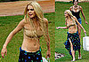 Bikini Photos of Lindsay Lohan With Ali Filming Machete in Texas