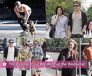 Photos of Kellan Lutz, Ashley Greene, Xavier Samuel, Peter Facinelli, Dakota Fanning, Bryce Dallas Howard in LA and Vancouver