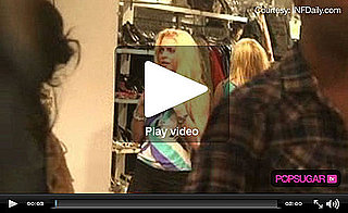 Video of Lindsay Lohan Ordering Pizza While Shopping