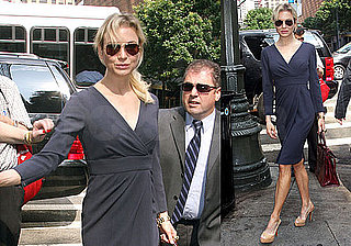 Photos of Renee Zellweger in NYC at Regis and Kelly, Rumors Jennifer Aniston Jealous of Renee Over Bradley Cooper