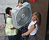 Photo Slide of Jennifer Aniston on The Bounty Set in NYC 2009-08-22 11:00:00
