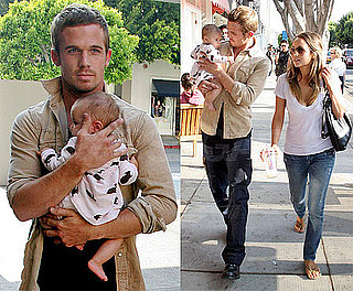 Photos of Cam Gigandet, Dominique Geisendorff, Everleigh Gigandet at Kitson Kids