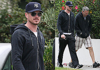 Photos of Eric Dane at the Gym Amid His Naked Tape Scandal