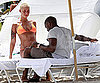 Photo Slide of Kanye West And Amber Rose in Miami